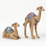 Camels Mini Figurines, Set of 2