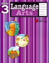 Language Arts Flash Kids Workbook, Grade 3