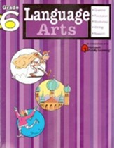 Language Arts Flash Kids Workbook, Grade 6
