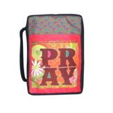 Pray Bible Cover, Large