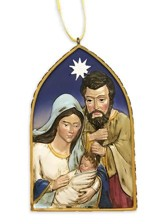Unto Us Is Born, Holy Family Arch Ornament