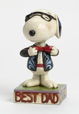 Peanuts Figurine, Father's Day Snoopy
