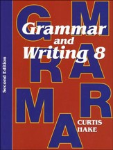 Saxon Grammar & Writing Grade 8  Student Text, 2nd  Edition
