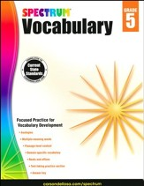 Spectrum Vocabulary Grade 5 (2014 Update)