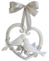 Heart and Doves--Wedding Wall Decor