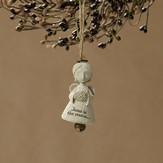 Jesus Is The Reason, Bless You!(tm) Angel Ornament