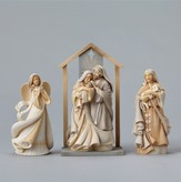 Nativity Figurines, Set of Four