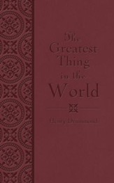 The Greatest Thing in the World - eBook