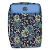 Sage Flower Bible Cover, Large