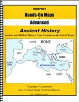 BiblioPlan's Hands-On Maps for Advanced: Ancient History, Grades 8-12