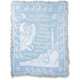 Now I Lay Me Down To Sleep, Tapestry Throw (Blue)