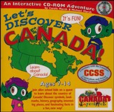 Let's Discover Canada CD-ROM, Grades 2-8