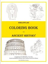 BiblioPlan Coloring Book for Ancient History