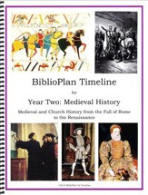 BiblioPlan Timeline for Year Two: Medieval History (2016  Edition)