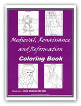 BiblioPlan Coloring Book for Medieval History