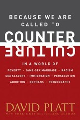 Because We Are Called to Counter Culture in a World of Poverty, Same-Sex Marriage, Racism, Sex Slavery, Immigration