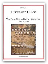 BiblioPlan Discussion Guide for Year Three: Early Modern History