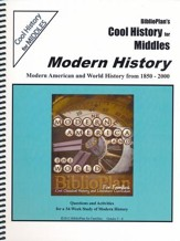 BiblioPlan's Cool History for Middles: Modern History, Grades 2-6