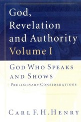 God, Revelation & Authority, 6 Volumes