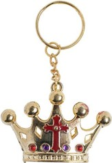 Over the Moat VBS: King of Kings Key Chain, 12 pack