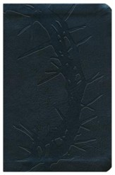 NKJV Compact Ultrathin Bible, Charcoal Imitation Leather