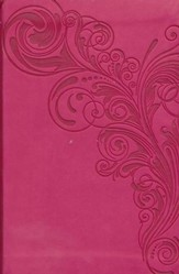 NKJV Compact UltraThin Bible, Pink Imitation Leather