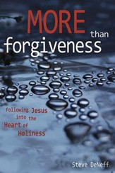 More Than Forgiveness: Following Jesus into the Heart of Holiness - eBook