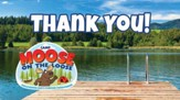 Camp Moose on the Loose: Thank You Cards, 20-pack