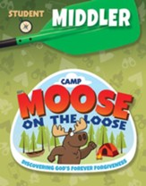 Camp Moose on the Loose: Middler Student Activity Sheets (KJV)