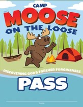 Camp Moose on the Loose: Theme Passes, 10-pack