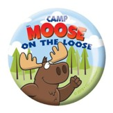 Camp Moose on the Loose: Logo Buttons, 20-pack