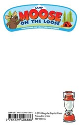 Camp Moose on the Loose: Logo Sticky Notepads, 10-pack