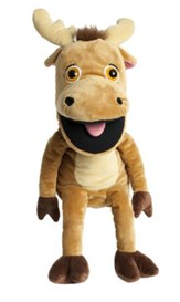 Camp Moose on the Loose: Bruce the Moose Puppet