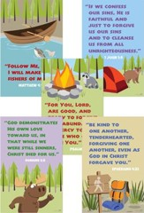 Camp Moose on the Loose: KJV Verse Posters, 5-pack