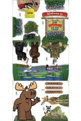 Camp Moose on the Loose: Theme Cutouts