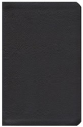 HCSB Ultrathin Reference Bible, Dark Brown Genuine Cowhide