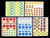 Camp Moose on the Loose: Self-Adhesive Foam Camp Shapes (pkg of 300)