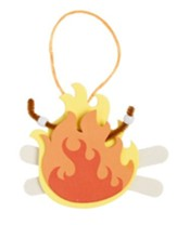 Camp Moose on the Loose: Marshmallows Roasting on an Open Fire Craft Kit (pkg of 12)