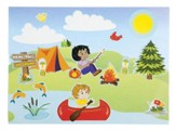 Camp Moose on the Loose: Camp Mini-Sticker Scenes (pkg. of 12)