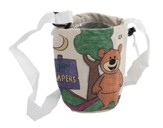 Camp Moose on the Loose: Color Your Own Camp Water Bottle Holder (pkg of 12)