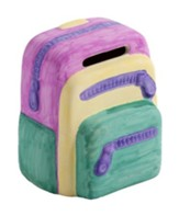 Camp Moose on the Loose: Ceramic Backpack Banks (pkg of 12)