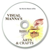 Visual Manna's Bible Arts & Crafts PDF CD-ROM