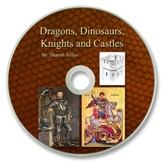 Dragons, Dinosaurs, Knights and Castles PDF CD-ROM