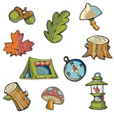 Camp Moose on the Loose: Campin' Critters Mini Cutouts