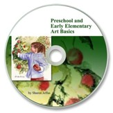 Preschool and Early Elementary Art Basics PDF CD-ROM