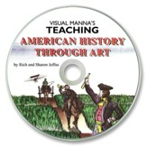 Visual Manna's Teaching American History Through Art PDF CD-ROM