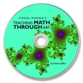 Visual Manna's Teaching Math Through Art PDF CD-ROM