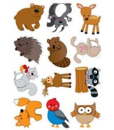 Camp Moose on the Loose: Moose & Friends Cutouts (pkg. of 36)