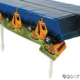 Camp Moose on the Loose: Campsite Tablecloth