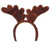 Camp Moose on the Loose: Plush Antlers Headband